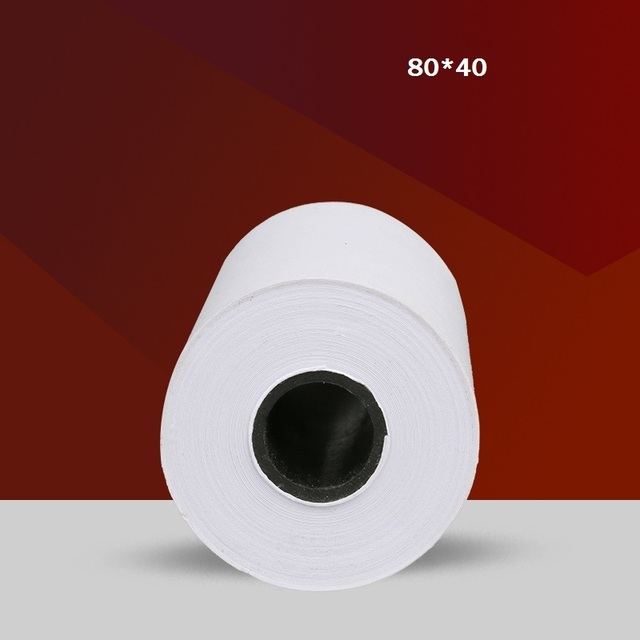 thermal paper roll 80mmx40mm for supermarket cash register paper pos