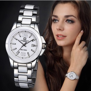 Carnival women's watch ceramic mechanical watch 3 needle commercial dismal lovers table