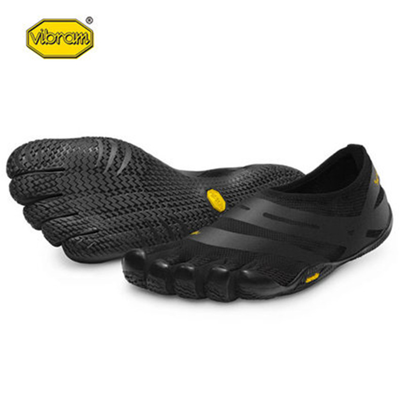 Vibram fivefingers Hot Sale Design Rubber with Five Fingers Slip Resistant Breathable Light weight Shoe for Men EL-X 18M0101 expansion module elc md204l text panel