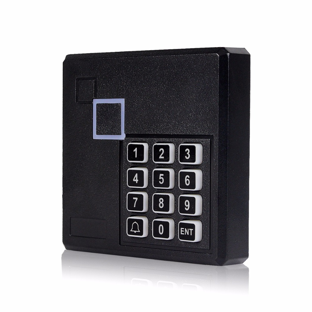 13.56 MHz Card Reader IC Door Access Control System with Keypad Waterproof F1763A usb pos numeric keypad card reader white