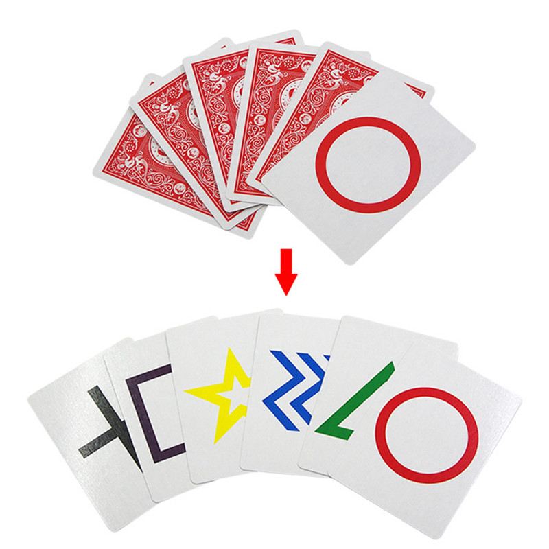 New Hot Sale Fancy ESP Classic Cards Group Card Sets Magic Tricks ...