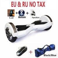 8 Pouce adulte Électrique scooter planche à roulettes Smart balance 2 roues hoverboard bluetooth gyro scooter planche à roulettes électroniques oxboard