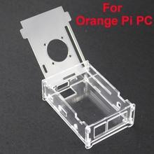 Лидер продаж прозрачный акриловый чехол для Orange Pi PC Ясно Профессиональный крышки корпуса В виде ракушки Box Совместимость оранжевый Pi PC плюс