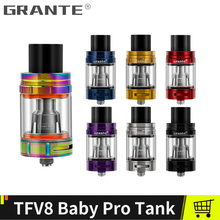 Grante TFV8 Big Baby Tank med 5ml 510 Atomizers Sub Ohm TFV8 Baby Q2 Dual Cores Fit Alien Stick v8 Vape Tank Förångare Kits