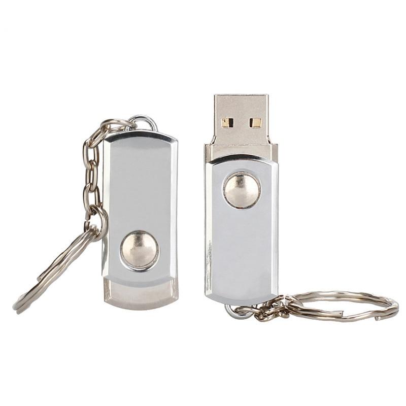 Usb flash drive 64gb usb 2.0 pendrive metal waterproof 4GB 16GB 32GB 128GB silver bracelet flash stick best gift free print LOGO (7)
