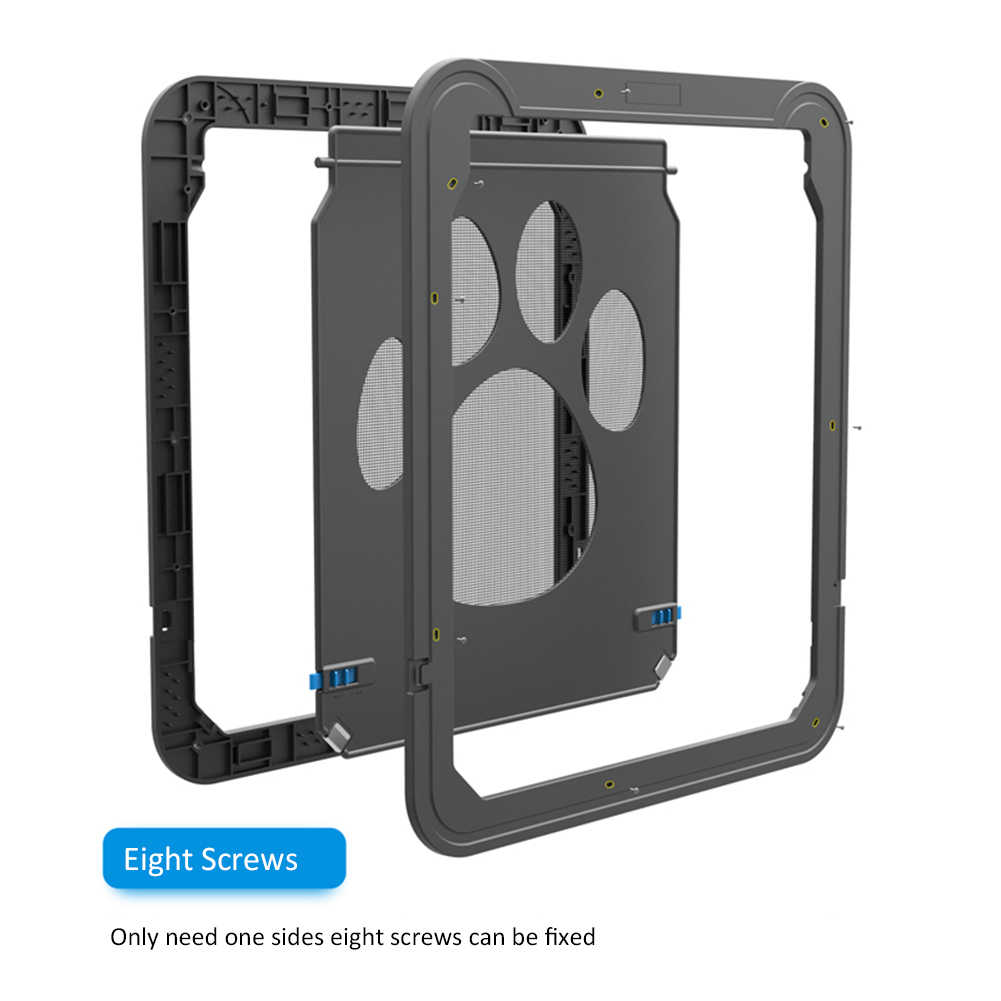 f81f5202049 ... 2018 новейшая универсальная Магнитная Дверь для домашних животных  инновационная марлевая оконная дверь для собак кошек Блокировка ...