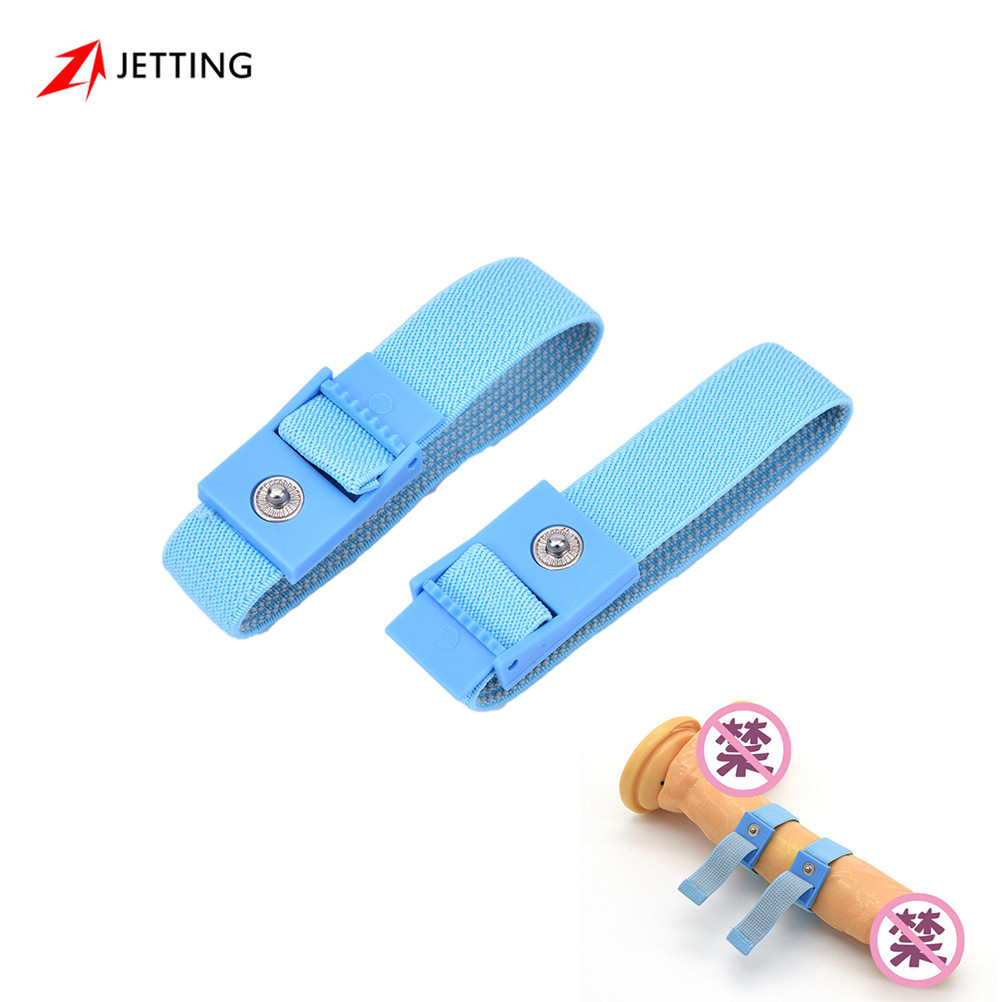 2 stk Penis Ringe Electric Shock Kog Ring Penis Stimulator- Electro Medical Sex Produkter-9154