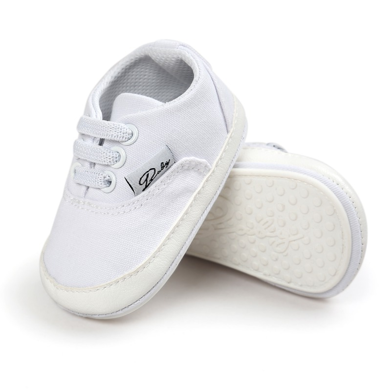 Wiosna Jesień Dziecko Noworodka Dziewczynka Chłopiec Miękkie Podeszwy antypoślizgowe Maluch Prewalker Niemowląt Sneaker Buty Na Co Dzień 39