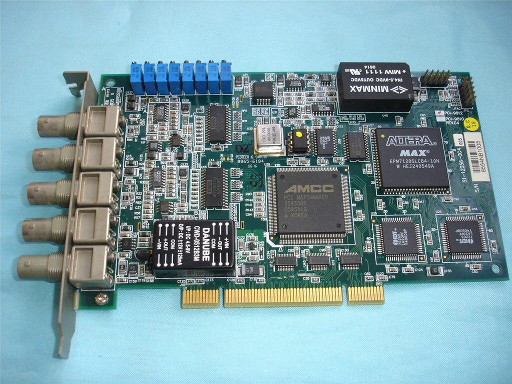 Pour Taiwan ADLINK PCI-9812 4 canaux 12 chiffres numériseur Acquisition carte Image Acquisition carte DAQ