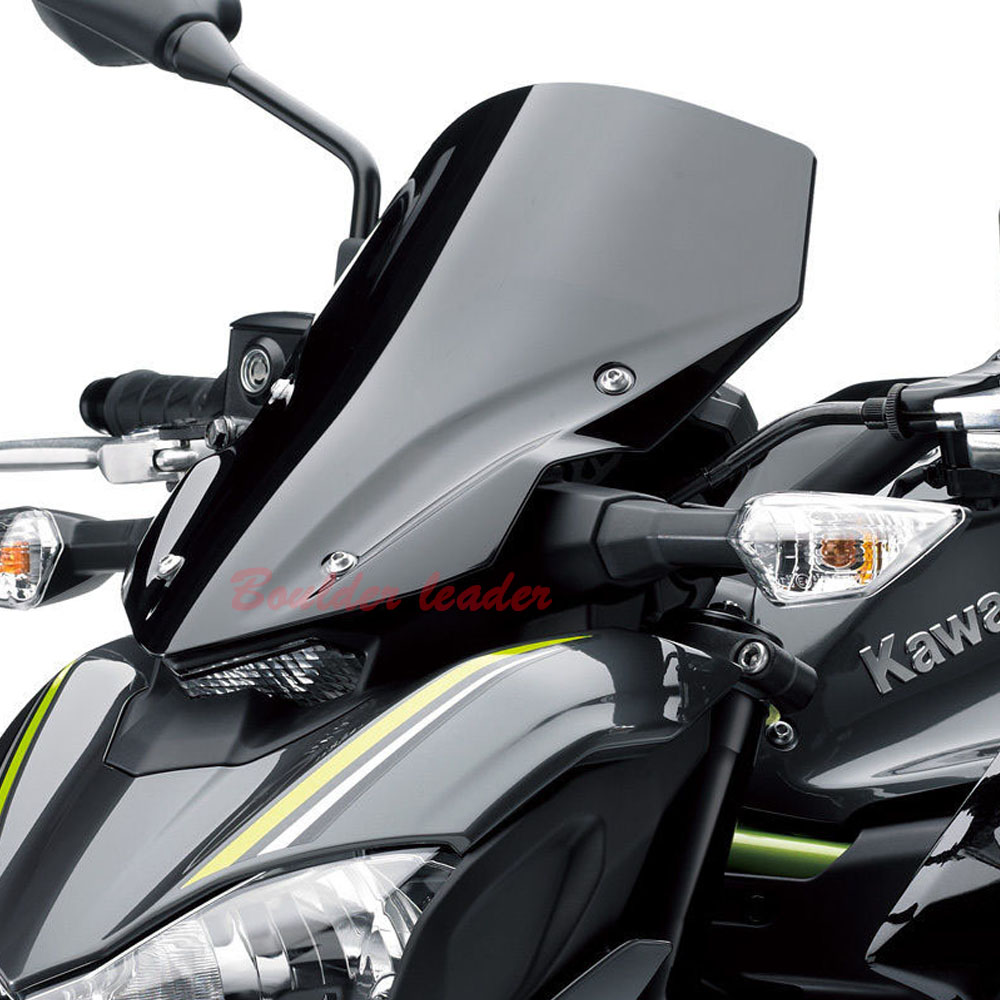 For Kawasaki Z900 Z 900 2017 Motorcycle Accessories Windshield Windscreen Pare brise