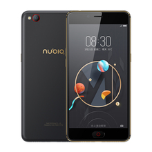 2017 new original nubia n2 4 gb ram 64 gb rom 5000 mah 4g LTEMobile Téléphone 5.5 pouce Octa Core Avant 16MP Arrière 13MP D'empreintes Digitales OTG