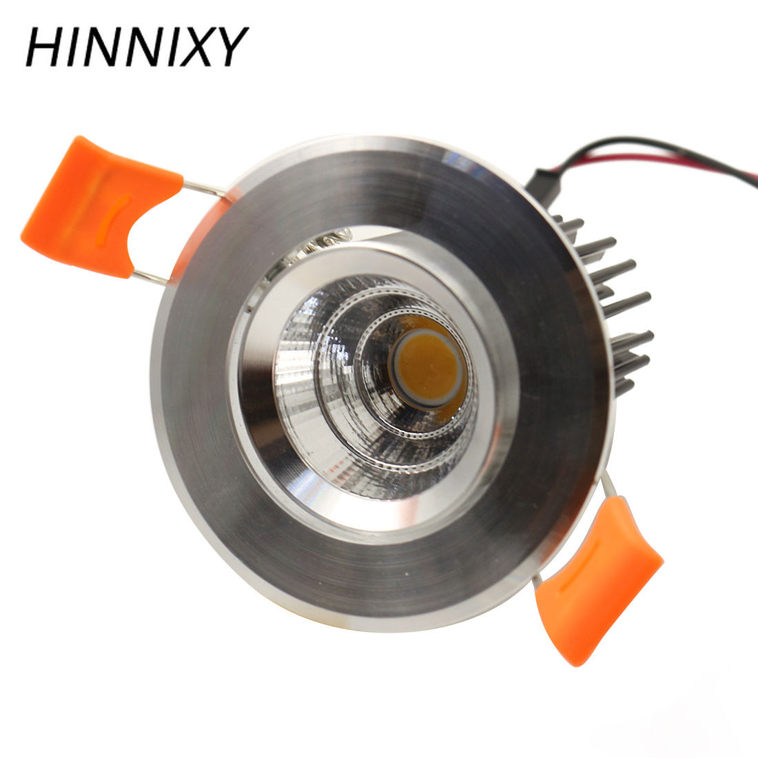 the latest aefa7 eaddc US $6.02 43% OFF|Hinnixy Super Bright Silvery LED Downlight 5W 90V 260V  55mm Cut Hole Recessed Ceiling luminaire Kitchen Spot Lighting fixtures-in  ...