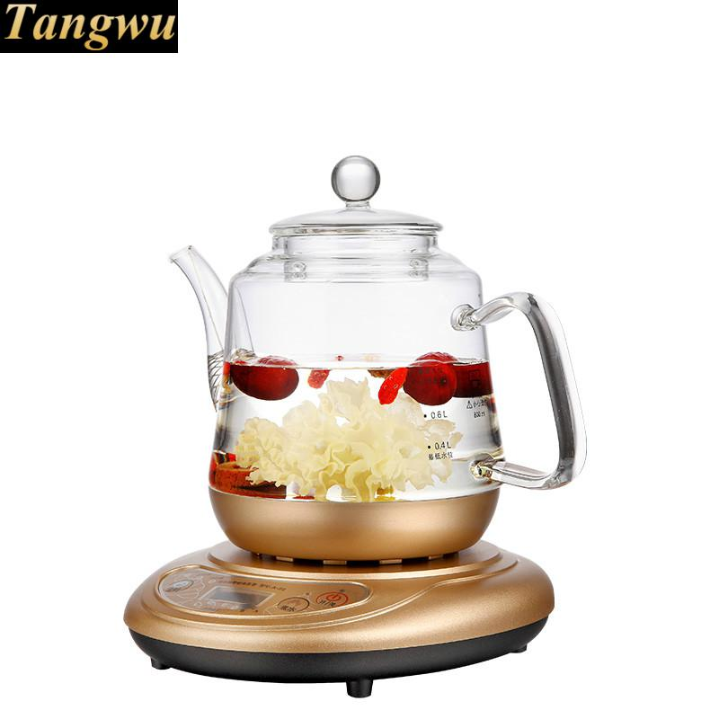 Brew tea ware herbal set glass raising pot fully automatic flower teapot boiled stove набор холодильник с продуктами sylvanian families