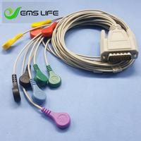 2018 quality welch allyn holter ECG cable 10 lead snap