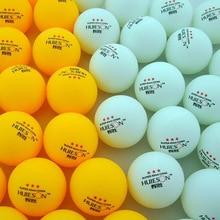 30 50 100 Pcs 3-Star 40mm 2.9g White Orange Pingpong Ball Amateur Advanced Training Table Tennis Balls Ping pong