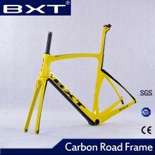 2016 de China barato Di2 marco del camino del carbón Bici del camino del Carbón Marco con tenedor de marcos Súper Ligero marco carbone bicicleta de ruta partes