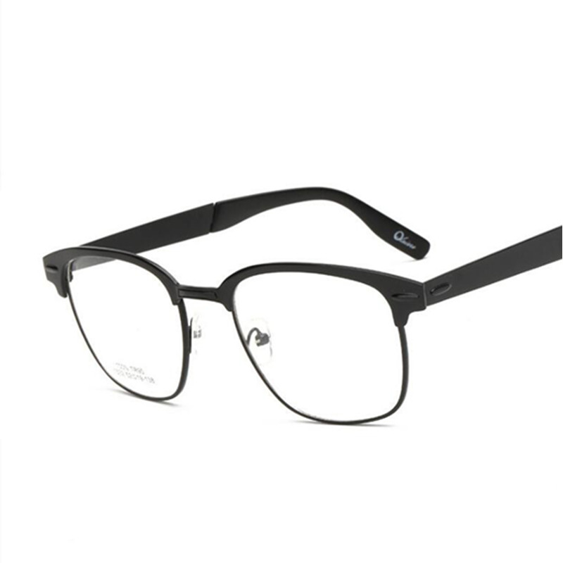 Glasses And Frame Shape : Alloy Retro Round Shape Optical Spectacles Frame For Men ...
