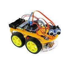 Bluetooth Ultrasonic Smart Car Robot Starter Kit for Arduino цена
