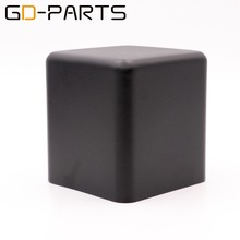 Cubierta de transformador de hierro negro, caja protectora de triodo de Metal, para amplificador de tubo Vintage Hifi, 107x107x115mm, 1 ud.