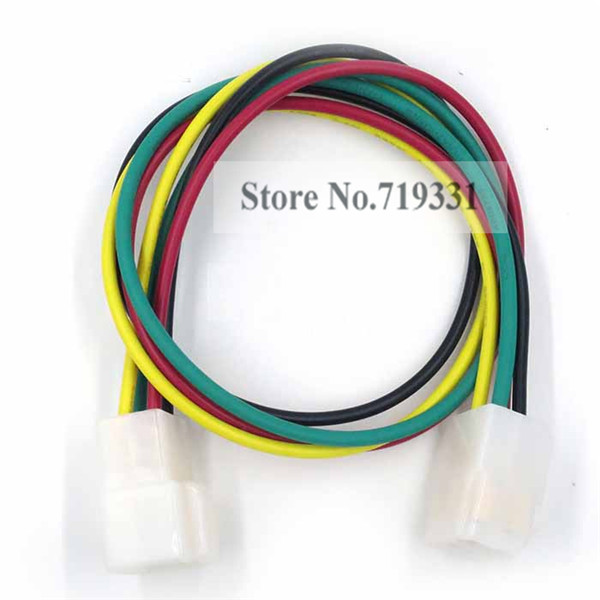 6.3mm 4pin automotive electrical wire connector male female cable terminals plug