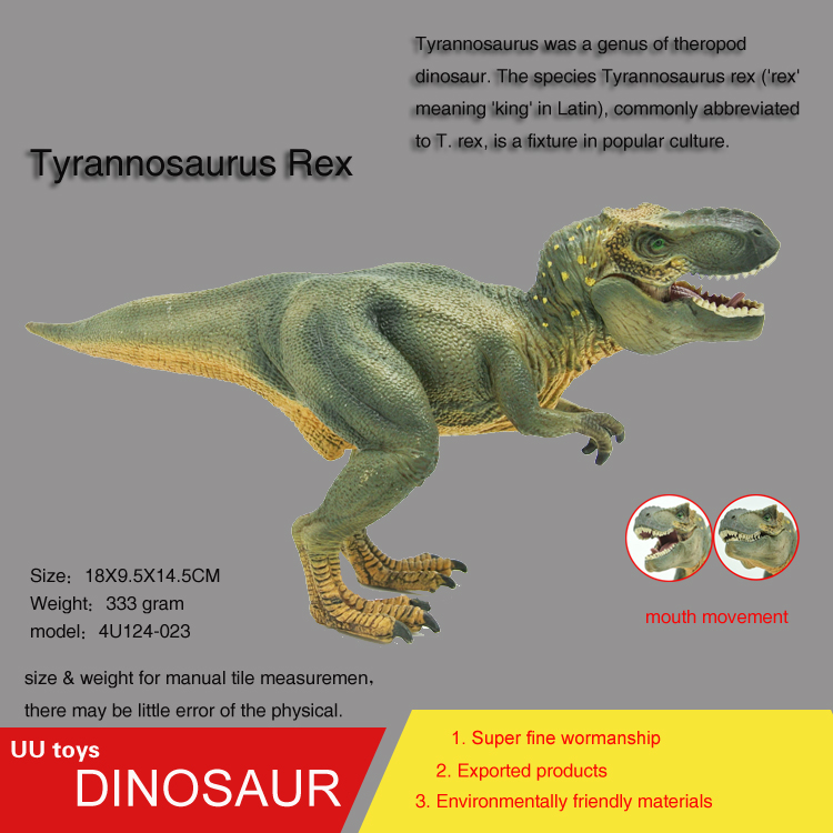 Hot toys Tyrannosaurus Rex Jurassic Plastic Dinosaur Toys Model Action Figures Boys Gift toys for children