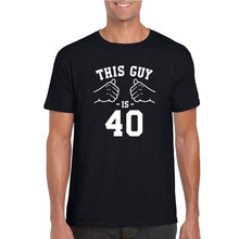 40th Birthday Gift Ideas For Men Present Him Custom T Shirt This Guy