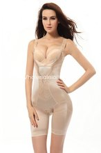 Sexy Summer Open Bust Body Wrap Shapewear with Long Legs Bodysuits