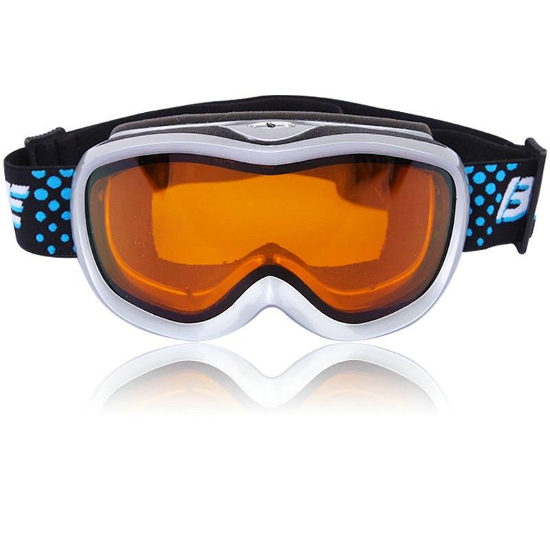 Professional Kids Sportswear Skiing Goggle Snowboard Glasses UV Protection double anti-fog lens Snowboard ski goggle eye wear