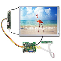 G121SN01 V3 Screen Panel 12.1 inch 800X600 TFT LCD Display Module Industrial LVDS HDMI Controller Board 20 pin Connector