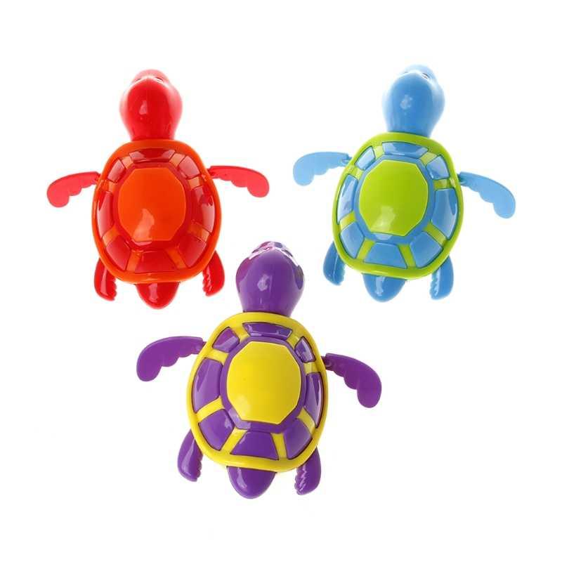น่ารักว่ายน้ำเต่าเต่าสระว่ายน้ำของเล่นสำหรับเด็กเด็กเด็กอาบน้ำอ่างอาบน้ำเวลา