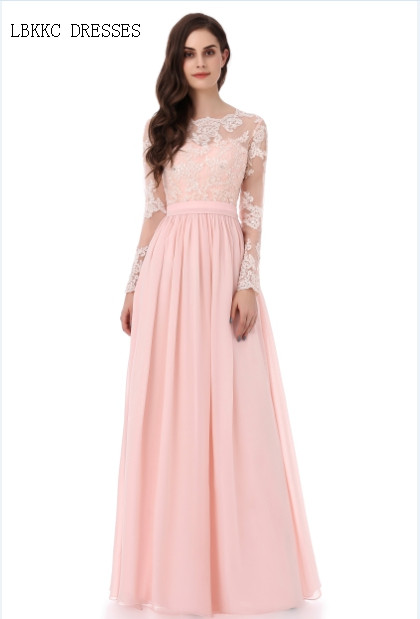 Evening     Dresses   Champagne Vestido De Festa With Lace Long Formal   Evening     Dresses   Robe De Soiree