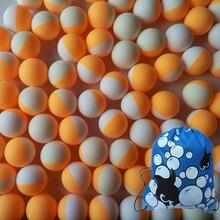 100pcs/Pack 3Stars Professional Table Tennis Ball White Orange Double
