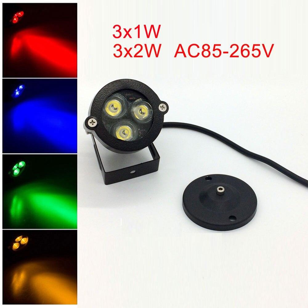 Lâmpadas do Gramado 1 pcs 3 w 9 Modelo Número : Lawn Lamps