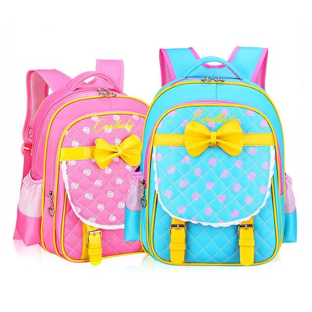 New Fashion Children School Bags Infantil Bolsas for Girls School Backpack Female Kid Bag Child Backpacks for Teenage Girls Bags