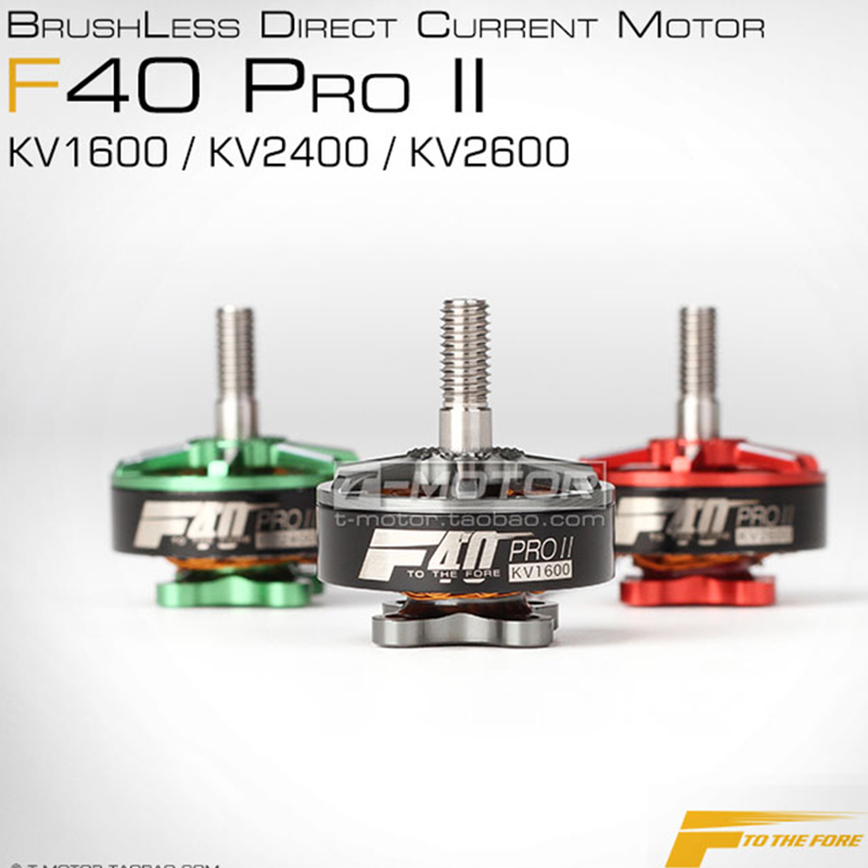 <font><b>T</b></font>-<font><b>motor</b></font> <font><b>F40</b></font> PRO II 1600KV 2400KV 2600KV Professional Brushless Electrical <font><b>Motor</b></font> For FPV Racing Drones Quadcopter Accessorie image