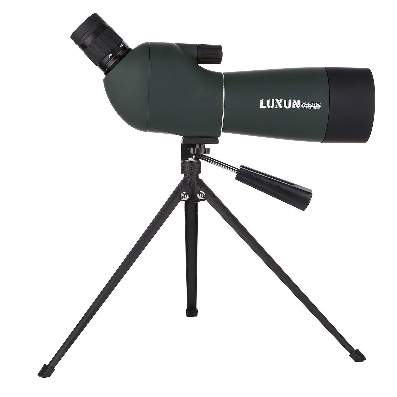 20 60X60 Bird Watching Monocular Telescope,Zoom Monocular Telescope with Handheld Tripod Viewing high Magnification Telescope