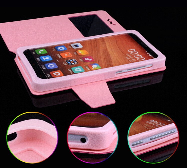 Fly IQ4406 Case PU Leather Cover Cases for Fly IQ 4406 Case UP Down Phone Cases for Fly IQ4406 ERA Nano 6 Free Shipping