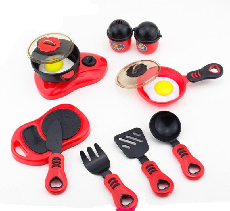 Pretend Food Baby Kitchen Childrenu0027s Kitchens Toys For Children Toy Girl  Cooking Child Kids Kitchen Toy Set In Kitchen Toys From Toys U0026 Hobbies On  ...