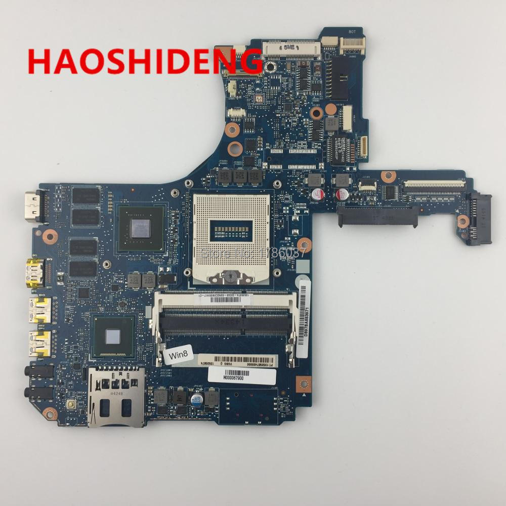 H000067900 for Toshiba Satellite P50 P55 P55T L50 L55 series motherboard PGA 947 ,All functions fully Tested ! for toshiba satellite p55t a5118 p55t a5116 p55t a5202 p55t a5200 p55t a5312 p50t a121 10u p50t a01c 01n touch glass screen
