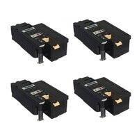 4 יחידות השחור פרימיום מחסנית טונר תואם עבור 106R02763 60 61 62 לxerox 6025 6027 Phaser 6020 6022 לייזר מדפסת