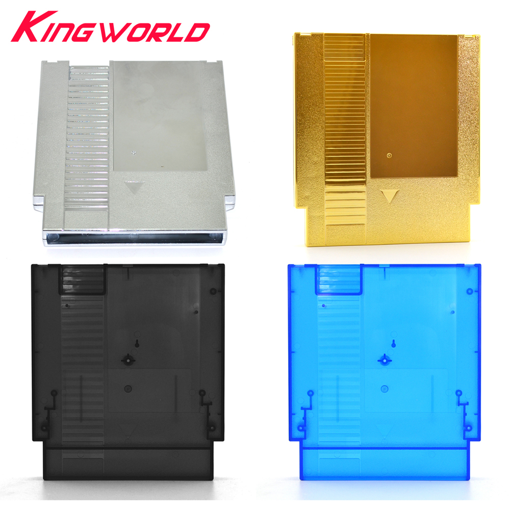 10pcs Game Card Shell 72 Pin Cover Plastic Case for Nintendo for NES Game Cartridge with