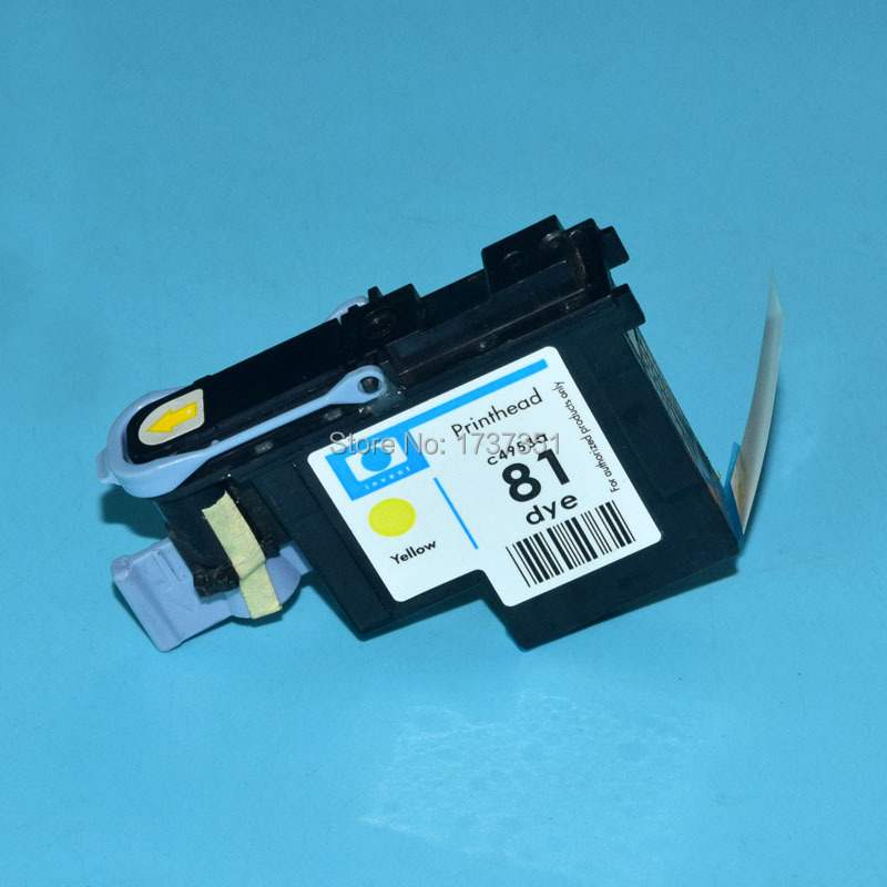 1 piece C4953A HP81 Remanufactured Printhead for hp 81 Designjet 5000 5500 print head  Yellow color 4 color hp862 printhead for hp photosmart plus b110a b209a b210a print head for hp 862