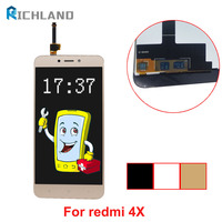 Richland No Dead Pixel For Xiaomi Redmi 4X LCD Display Touch Screen Digitizer Assembly Replacement For