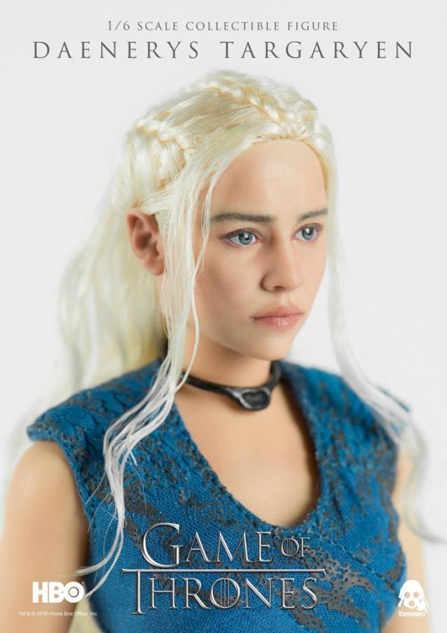 3A three ezero 1/6 Game of Thrones Daenerys Targaryen Figurine complète Collection Figurine Action femme modèles