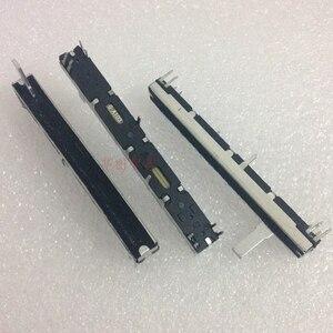 4 шт. для Микки Маки потенциометр микшера двойной-A10K A20K A50K B100K A10KX2 потенциометр стерео слайд 2-канальный