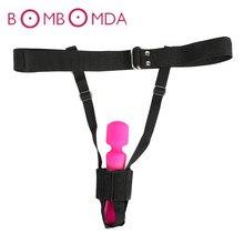 Female Fasten Belt for Vibrator Adjustable Strap on Fixed Dildo Belt Bondage Gear Sex Toys for Women Erotic Adult Products