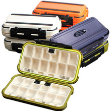 цена на Multifunction Fishing Tackle Box waterproof Fishing Accessories Box Tool Storage Case Pesca for Lure Spoon Hook Bait Tackle