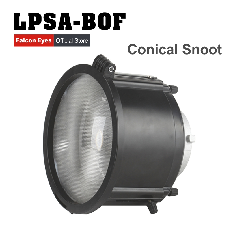 Falcon Eyes LPSA-BOF Light Extender 3 Times Exposure Value Conical Snoot Flash for Canon Nikon with 10pcs Color Filters falcon eyes lfpb 2 складной