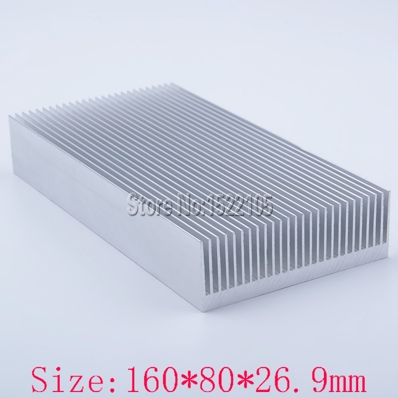 Heatsink 160x80x26.9mm power amplifier Aluminum heatsink heat sink high quality radiator Module radiator special for cooling 1pc 22 tooth black oxide aluminum heatsink module mayitr durable heat sink radiation tool 120 69 27mm for electronic