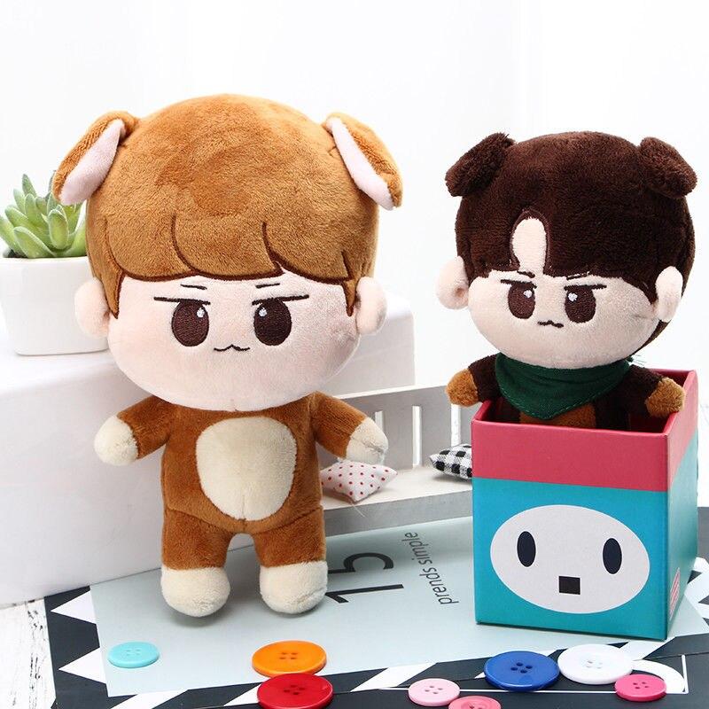 PCMOS KPOP Shinee muñecos de peluche uno Jonghyun] Clave Min Ho juguetes Taemin Animal muñeca de juguete para los niños de las mujeres regalo - 4